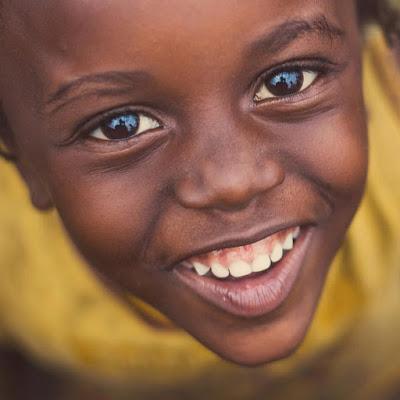 happy black kid